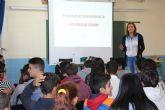 Bienestar Social imparte talleres a adolescentes para la prevención de la violencia de género