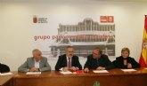 González Tovar se compromete con el alcalde de Totana a reclamar en los presupuestos regionales para 2017 una partida de 400.000 euros para la mejora de las redes de abastecimiento de Totana