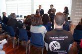Jornada de puertas abiertas y clausura de la Lanzadera de Empleo de Alcantarilla, en donde uno de cada dos participantes ha sido contratado