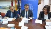 Diego Conesa manifiesta la voluntad inequívoca del Gobierno de España de cumplir con los plazos y objetivos del proyecto de regeneración de la Bahía de Portmán