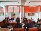 El consejero de Agua mantiene un encuentro con representantes de la Comunidad de Regantes de Ceutí