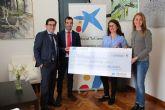 Obra Social La Caixa dona 8.000 euros al Ayuntamiento para fines sociales