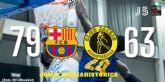 Hozono Global Jairis no consigue sumar su primera victoria en la pista del Barcelona B