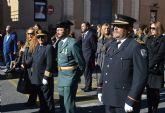 La Purísima Concepción, patrona de la Policía Local, desfila en su onomástica por Las Torres de Cotillas