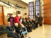 El Centro de Día de Personas Mayores de Totana visita el IV Belén solidario de la Hermandad de la Verónica