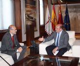 El presidente de la Comunidad se reúne con el alcalde de Aledo