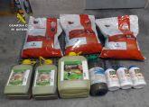 La Guardia Civil destapa una trama delictiva dedicada a la sustracción de productos fitosanitarios
