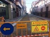 Se abrirá al tráfico la calle Cánovas del Castillo a partir de la semana del 22 de enero, en cuanto finalicen las obras de asfaltado