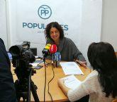 El PP denuncia que la alcaldesa miente sobre la Línea 51 Molina de Segura-Los Valientes