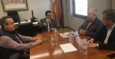 El presidente de CROEM y los secretarios generales de UGT y CCOO reivindican el diálogo social en su primera reunión de 2020