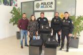 Policía Local de San Pedro del Pinatar refuerza la seguridad de sus agentes con nuevos chalecos antibalas