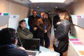 El InfoMóvil asesora a más de un centenar de emprendedores en San Pedro del Pinatar