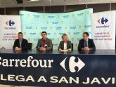 Carrefour abrirá el 23 de febrero en San Javier uno de sus siete hipermercados de la Región de Murcia