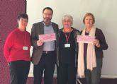 La asociación ADAPT dona 1.500 euros para la lucha contra el cáncer