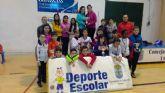 La Fase Local de Tenis de Mesa de Deporte Escolar contó con la participación de 69 escolares de Totana
