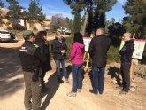 La Comunidad desarrolla trabajos de prevención de incendios con aprovechamiento de la biomasa sobre 391 hectáreas de Mula