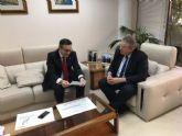 El alcalde traslada al Delegado del Gobierno las necesidades de Alhama en el proyecto de ampliaci�n de la A7