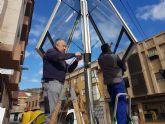 El Ayuntamiento instala un m�dulo LED para dar informaci�n a los vecinos