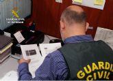 La Guardia Civil detiene a una persona e investiga a otras 22 por estafas telemáticas y usurpación de estado civil