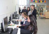 Renuevan los equipos informáticos del Aula de Nuevas Tecnologías de la pedanía lumbrerense de La Estación-Esparragal