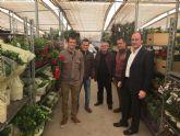 El director general de Producciones y Mercados Agrarios visita la cooperativa La Pacheca-sPalm