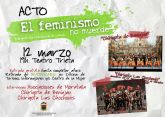 'EL FEMINISMO NO MUERDE' campaña por el 8 de marzo, Día Internacional de la Mujer