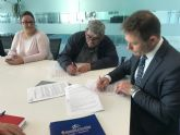 El Ayuntamiento de Torre-Pacheco y la Comisión de Fiestas de Roldán firman convenio de colaboración