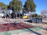 Reforman de forma integral el parque de Los Cantareros, junto al recinto ferial y la ermita