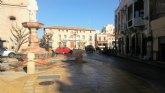 Se cortar� el tr�fico a la plaza de la Constituci�n desde la calle General Aznar durante 10 d�as por la finalizaci�n de las obras de la Fuente de la Plaza