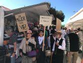 Recreación de una Manifestación Sufragista en Torre Pacheco