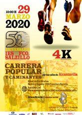 El 29 de marzo, fiesta deportiva por los 50 años del IES Francisco Salzillo