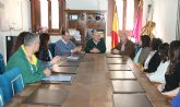El alcalde recibe a responsables de las oficinas de turismo de la Región de Murcia
