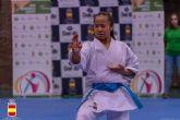 La murciana Irene Yao Alcaraz Carrión, disputa la final en la 1º Fase de la Liga Nacional de Karate