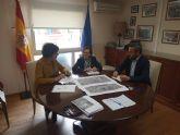 El Ayuntamiento de Puerto Lumbreras y la Mancomunidad de Canales del Taibilla acuerdan nuevas inversiones en el municipio