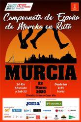 Este miércoles, presentación del LXXII Campeonato de España de 20km. Marcha Murcia 2020