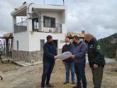 La Comunidad mejora las instalaciones del punto de vigilancia fija ´Coto Salinas´ en Yecla para prevenir incendios forestales