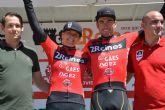 Leao Pinto vence con autoridad en la segunda etapa y arrebata el maillot de líder al murciano Ismael Sánchez
