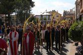 Procesiones de Las Palmas y Jesús Triunfante para celebrar el Domingo de Ramos