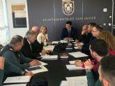 La Junta Local de Seguridad trabaja en el dispositivo de seguridad del Festival Aéreo Internacional de los días 9 y 10 de junio en Santiago de la Ribera