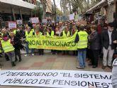 Ganar Totana destaca que gracias a las movilizaciones en defensa del Sistema Público de Pensiones se logra un aumento del 3% de las pensiones más bajas