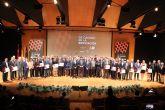 Fernando López Miras asiste al acto de entrega de los VIII Premios de Calidad en la Edificación de la Región