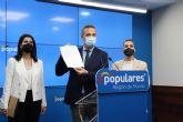 Joaqu�n Segado: 'Diego Conesa est� acorralado por la Justicia y por sus fracasos pol�ticos'