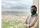 El presidente de VOX Murcia, José Ángel Antelo, ha visitado Cieza acompanado por los miembros del CEP y el equipo local
