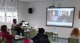 Encuentro con eurodiputados en el Centro de Educación de Adultos de Lorca