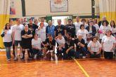 Los usuarios del Centro Ocupacional de Día se alzan con la victoria en un partido de fútbol sala contra Alcaldesa y Concejales