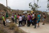 Mas de 350 personas disfrutan del geolod�a en una ruta por las Calas de Bolnuevo