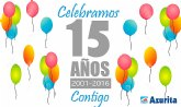 Azurita System celebra su 15 aniversario