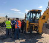 Obras para la mejora de la seguridad de la carretera que une Fortuna y Abanilla