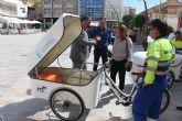 El servicio de limpieza viaria se amplia con dos triciclos eléctricos para el centro urbano