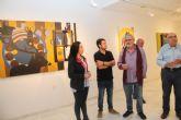 El artista lumbrerense Salva Piñero expone su obra 'Tras una vida, otra vida' en el Centro Cultural Casa de los Duendes